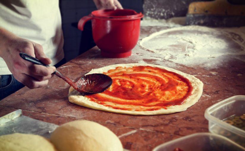 przepis na ciasto na pizze